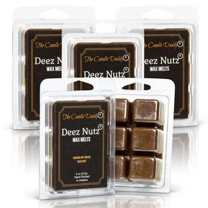5 pack- Deez Nutz Wax Melts Hazelnut Banana Nut